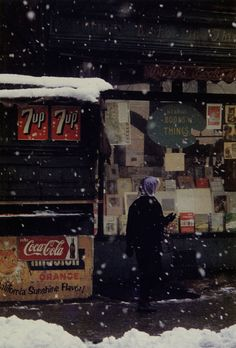 Saul Leiter started shooting color and black-and-white street photography in New York in the He had no formal training in photo. Robert Doisneau, Saul Leiter, William Eggleston, Color Photography, Street Photography, Glamour Photography, Lifestyle Photography, Editorial Photography, Fashion Photography
