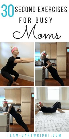 Exercises for Busy Moms. Looking to get back into working out? These simple moves will inspire you to try more! Beginner Workout At Home, Workout For Beginners, Fast Workouts, At Home Workouts, Body Workouts, Workout Routines, Workout Ideas, Health And Fitness Tips, Easy Fitness