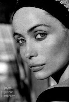 Emmanuelle Beart- From this 3/4 profile she looks a lot like me (except for the upper lip) especially the nose and eyes. If she's a theatrical romantic, then perhaps it's a better fit for me that soft classic, which is frankly a bit soft and dull for me.