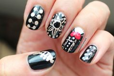 Polished Polyglot: 33DC Day 5: Mexican - Mariachi nails