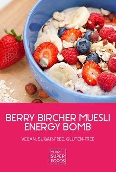 No time for breakfast? Our bircher muesli can be prepared the night before and is a quick and easy, yet tasty and healthy breakfast option.