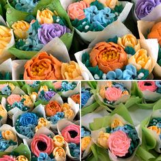 💐 Oh my, How Beautiful 😍! If you ordered Mother's Day cupcake bouquets, they are ready for pickup. Mothers Day Cakes Designs, Cupcakes, Make A Wish, Custom Cakes, How Beautiful, Happy Mothers Day, Yummy Cakes, How To Make Cake, Cake Decorating