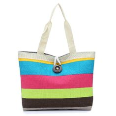 Canvas Summer Womens Beach Bags Fringe Candy Color High Quality Female top-handle luxury designer handbags Famous Brands tote SmsAliexpress | www.sms.hr #smsaliexpress