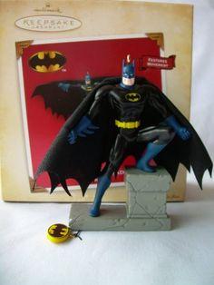 1 X 2004 Hallmark Ornament The Caped Crusader Batman @ niftywarehouse.com #NiftyWarehouse #Batman #DC #Comics #ComicBooks