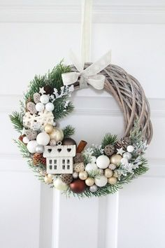 1 million+ Stunning Free Images to Use Anywhere Christmas Time, Christmas Crafts, Christmas Ornaments, Diy Couronne Noel, Holiday Wreaths, Holiday Decor, Theme Noel, Christmas Tablescapes, Diy Weihnachten