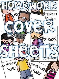This product contains 22 different types of covers heets you can personalize for students homework folder. (year -write child's first and last name in blank- slide in front of homework folder. Homework Binder, Teacher Binder Covers, School Themes, Classroom Ideas, Kindergarten, Homeschool, Students, Teaching, Writing