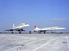 Concordes: Pre-Production: Registration: F-WTSA. (Air France) and G-BBDG. (British Airways.)