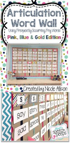 A PERFECT addition to any speech therapy room! Not only does this product add a beautiful bulletin board to your room or office, it also doubles as a strategy-based intervention for your students. Repinned by SOS Inc. Resources pinterest.com/sostherapy/.