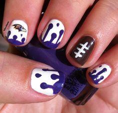 We bleed purple manicure!!!!