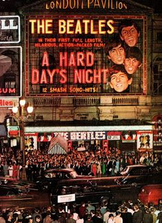 A Hard Day's Night premiere 1964