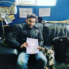 Well done Mohammad for passing your CBT # rebeldoggriders #Mashtherebeldogg #motorcycletraining #CBT #ride #motorcycle www.rebeldogg.com