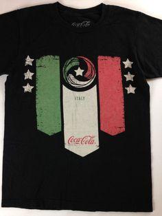 Coca Cola Italy T-Shirt Womens Small D Lab Italia Cotton Tee Soccer Futbol Flag http://www.ebay.com/itm/Coca-Cola-Italy-T-Shirt-Womens-Small-D-Lab-Italia-Cotton-Tee-Soccer-Futbol-Flag-/301915212766?roken=cUgayN&soutkn=dIv4Zi #bogo #deals #savings #clothes #ebay