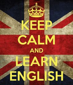 Keep calm & learn English