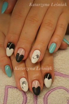by Kasia Leśniak, Follow us on Pinterest. Find more inspiration at www.indigo-nails.com #nailart #nails #blue #classy