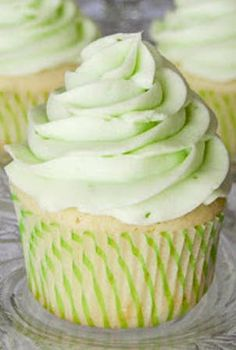 Key Lime Cupcakes by The Real Housewives of Riverton