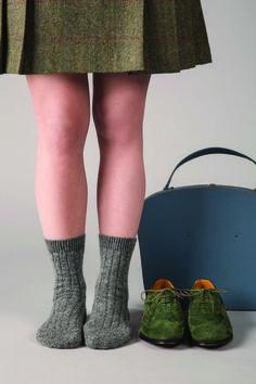 714eaface48 Tabitha - 5x1 Rib - Cashmere Women s Socks