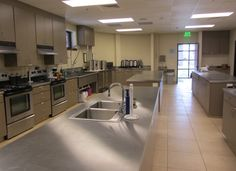 renovated church kitchens | First United Methodist Church Temple | Fellowship Halls | Portfolio