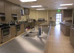 renovated church kitchens | First United Methodist Church Temple | Fellowship Halls | Portfolio