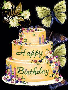 Happy birthday animated gif free download greetings birthdays funny happy birthdays pink roses gifs m4hsunfo