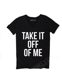 TAKE OFF Longer tee with v neck and sleeve tabs unique by REBELIAM