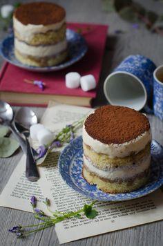 mini layer cakes façon tiramisu