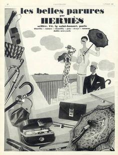 Hermès , 1926 Umbrella, Handbags, Canes