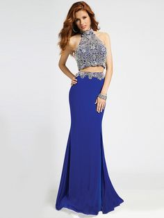 44cc3a53814 Sexy and elegant describes the two-piece ensemble of Jovani 20370 prom dress
