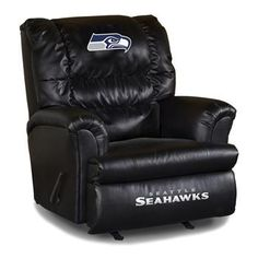 Use this Exclusive coupon code: PINFIVE to receive an additional 5% off the Seattle Seahawks Leather Big Daddy Recliner at SportsFansPlus.com