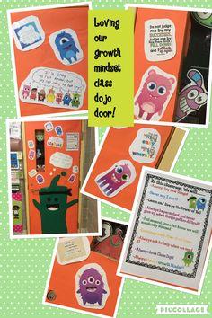 My dojo growth mindset door