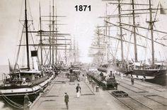 1871 Station Pier Melbourne