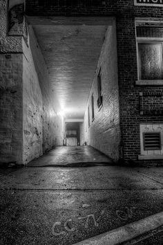Midnight Alley by hardpan photo, via Flickr