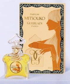 Mitsouko de Guerlain, un perfume creado en Perfume Ad, Vintage Perfume, Perfume Bottles, Japanese Female Names, Traditional Japanese Art, Smell Good, All Brands, Art Pieces, Beautiful