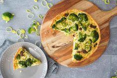 Sallys Rezepte - Brokkoli Quiche / genial einfach, würzig & lecker / Quark-Öl-Teig