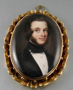 19th c. portrait miniature