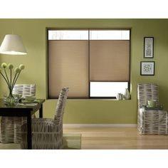 Antique Linen Cordless Top Down Bottom Up 22 to 22.5-inch Wide Cellular Shades (22 1/2W x 54H Antique Linen), Brown (Polyester)