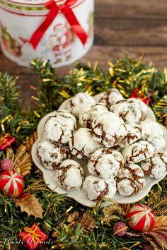 Fursecuri/Biscuiți/Cornulețe Archives   Bucate Aromate Dessert Recipes, Desserts, Crinkles, Stuffed Mushrooms, Goodies, Vegetables, Food, Gourmet, Tailgate Desserts