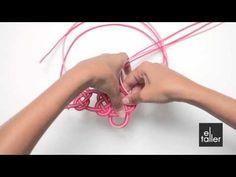 Video tutorial de la técnica de nudo Josefina.  www.eltalleronline.com