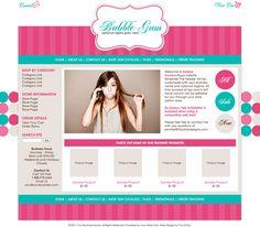 BUBBLE GUM -- Limited Website Template