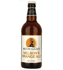 Moon Gazer Nelsons Orange Ale British Beer, Corona Beer, Beer Bottle, Ale, Moon, Orange, Drinks, The Moon, Drinking