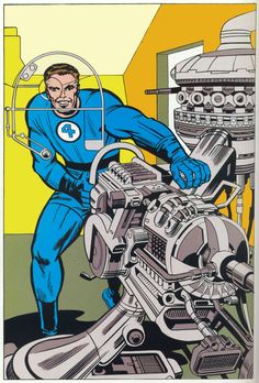 Mr Fantastic by Jack Kirby