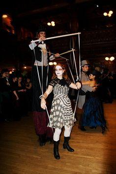marionette dancers by Fenchurch!, via Flickr