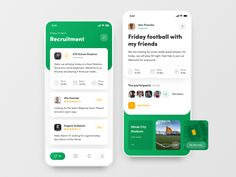 FootPlace: Football Places, Stadiums and Events designed by Alex Pesenka. Connect with them on Dribbble; Interface Iphone, Interface Web, User Interface Design, Web Design Mobile, App Ui Design, Design Design, Site Design, Flat Design, Graphic Design