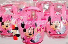 12 PCS Disney Minnie Mouse Candy Bags Mini Coin Purses Party Favors Fillers #Disney