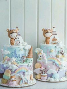 I mean...just the cutest cakes ever!
