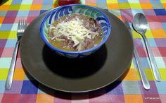 el Pasaplatos: Sopa toscana de cebolla (Carabaccia)