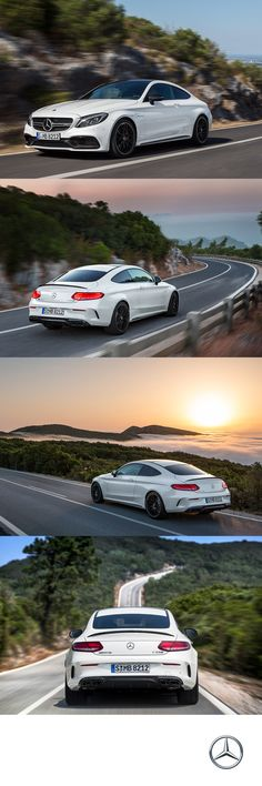 Boasting a 4.0 Liter V-8 biturbo engine, the Mercedes-AMG C63 S Coupe boosts from 0-60 in 3.8 seconds