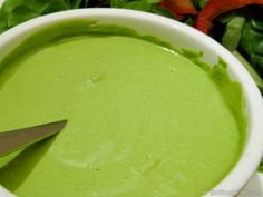 Green Home Made Dairy Free Mayonnaise