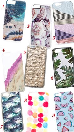 Shop 9 beyond-chic iPhone covers that will breathe new life into your phone.