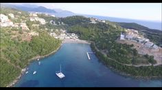 Sivota - Aerial Views Beach Bars, Aerial View, Greece, River, World, Outdoor, Greece Country, Outdoors, The World