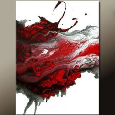 FORGIVEN - newAbstract Modern Art Painting 18x24 Original by wostudios on Etsy, $69.00 #abstractart